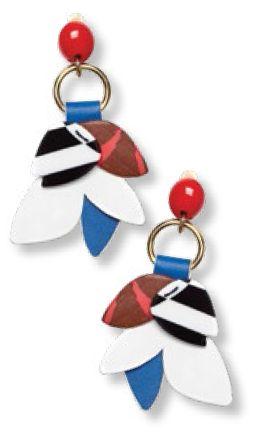 Earrings, $105, from Bimba Y Lola.