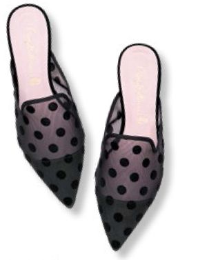Shoes, $210, from Pretty Ballerinas.