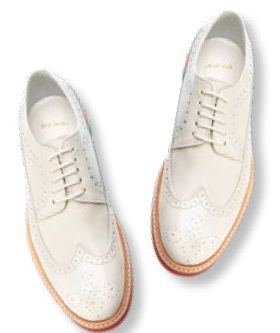 Shoes, $426, from Paul Smith.