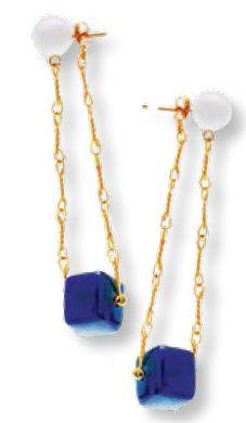 Earrings from Marni.