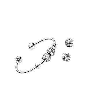 Charm bracelet from Pandora.