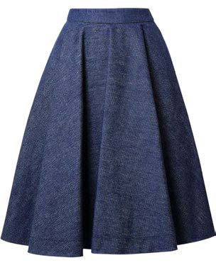 Skirt, $860, from Calvin Klein 205W39NYC.