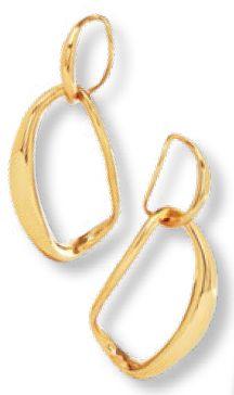 Dinosaur Designs earrings, $490, from NET-A-PORTER.
