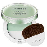 Anti-pollution skincare takes a convenient form in the LANEIGE Anti-Pollution Finishing Pact SPF 15 PA++, $36. This handy powder pact prevents particles from sticking to the skin while controlling shine and excess sebum.