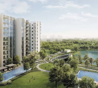Waterfront living is redefined in this lakeside integrated development.