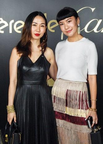 Jaime Lee and Savina Chai