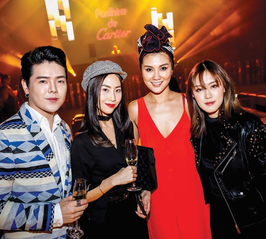 Auston Cai, Sonia Chew, Peggy Chang and Valerie Wang