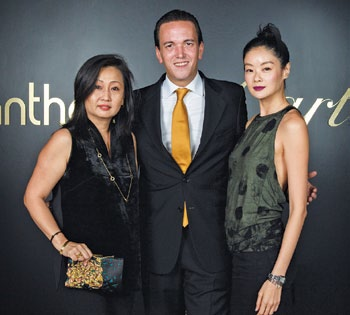 Christina Ang, Jerome Metzger and Sheila Sim