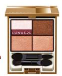 Lunasol Dry Summer Eyes in Warm Beige Nuance, $77.