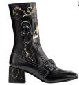 Tattoo Signature leather boots, $1,250.