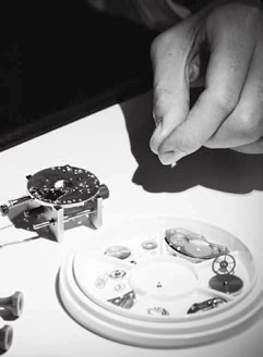 Watchmaking classes are  also sometimes available