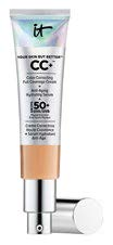 Hide flaws completely with the IT Cosmetics Your Skin But Better CC+ SPF 50+, $62 (30 ml), an all-in-one CC cream that also has skincare ingredients to brighten and hydrate skin.