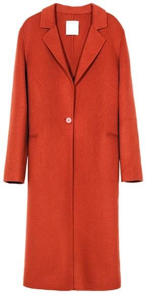 Cotton coat, $853, Sandro.