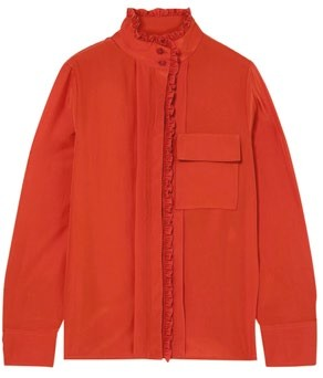 Silk blouse (price unavailable), Chloe.