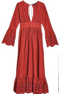 Cotton dress, $119, Topshop.