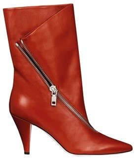 Calf leather boots, $2,500, Givenchy.
