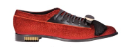 Suede and leather lace-ups (price unavailable), Emporio Armani.