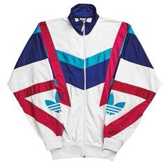 8 '80s Adidas trainer jacket, $150.