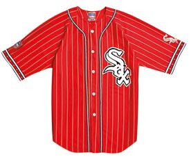 6 '90s White Sox baseball jersey, $99.99.