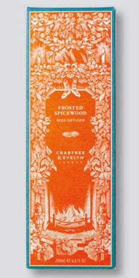 Crabtree & Evelyn Frosted Spicewood Reed Diffuser, $80.