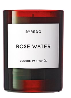 Byredo Rose Water Candle, $110.