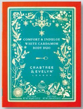Crabtree & Evelyn Comfort & Indulge White Cardamom Body Duo, $80.