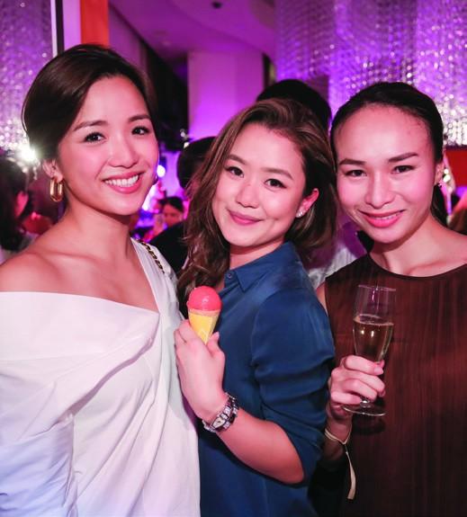 6. Tiffany Shek, Pearl Shek and Diane Quilindo