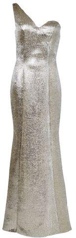 Lamé gown, $2,998, Ann Teoh.