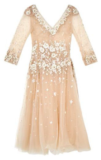 Sequinned tulle dress, $7,899, Francis Cheong.