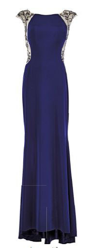 Jersey gown, $1,890, High Street Fashion.