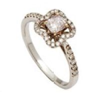 18K white gold ring with diamonds (price unavailable), Fairy's Inc.