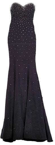 Jovani polyester gown, $980, Satine.