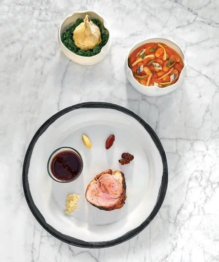 Visitors can expect a range of delectable dishes in the chateau's fine-dining restaurant.