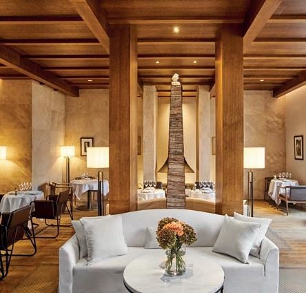 Chateau's fine-dining restaurant.