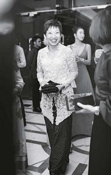 8. Minister for Culture, Community and Youth Grace Fu is the night's guest of honour.