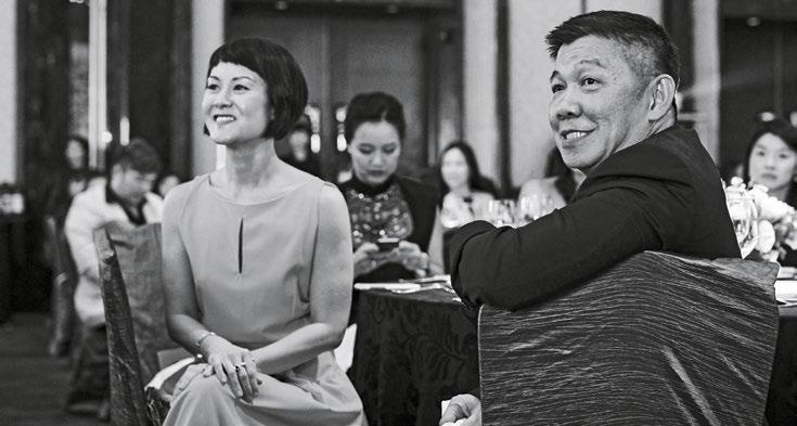 13. Actress Janice Koh with Wong Kim Hoh, senior writer, The Straits Times.