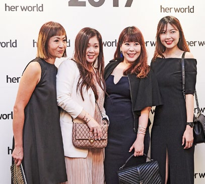 6. From left: Joyce Teh, president, TFS Singapore; beauty bloggers Leanne Ho and Cheryl Chio; and Brenda Lim, senior marketing executive (Sulwhasoo), Amorepacific Group.