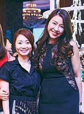 13. Lena Wong, marketing manager, Casio Singapore (left) and Vanessa Foo, business development manager, LVMH Group.