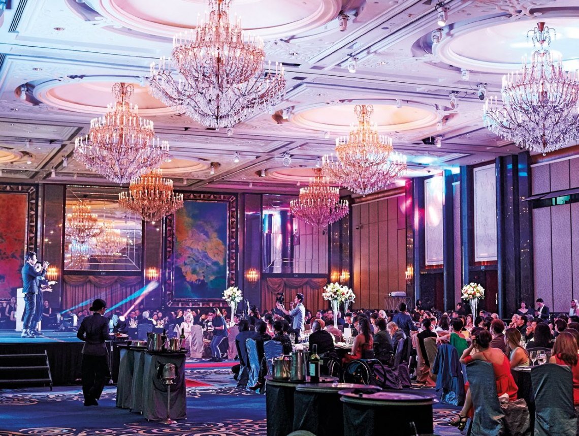 More than 300 guests filled the Shangri-La ballroom for an intimate evening to celebrate two standout women.