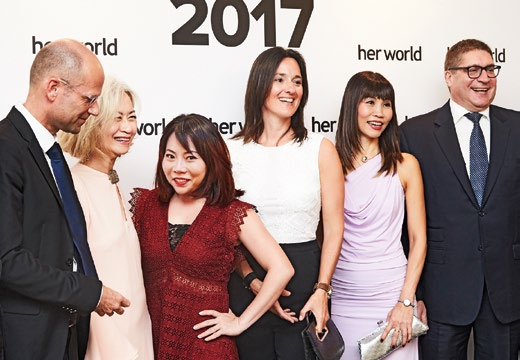 7. From left: Jan Ehlen, corporate and governmental affairs Asia, BMW Group; Caroline Ngui; Koo Sok Hoon, marketing communications manager, BMW Asia; Sonja Piontek, director of marketing, BMW Asia; Diana Lee, general manager, SPH Magazines; and Horst Herdtle, managing director, Performance Motors.