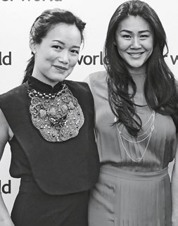 8. Tan Su-Lyn and Celine Tan of The Ate Group.
