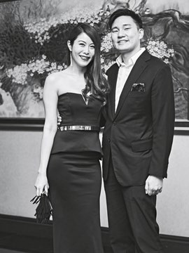 3. Her World Young Woman Achiever 2016 Jenny Tay, with her husband, Darren Cheng.