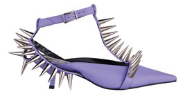 Sandals with spikes (price unavailable), Topshop.