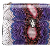 Serpenti Forever python flap bag, $7,100, Bulgari.