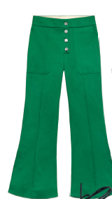 Fishtail pants like this are Spring's big trends. Cotton, $139.