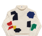 Cotton sweater, $179.