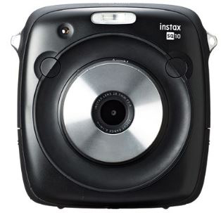 Instax SQUARE SQ10, $499. Available in black and white.