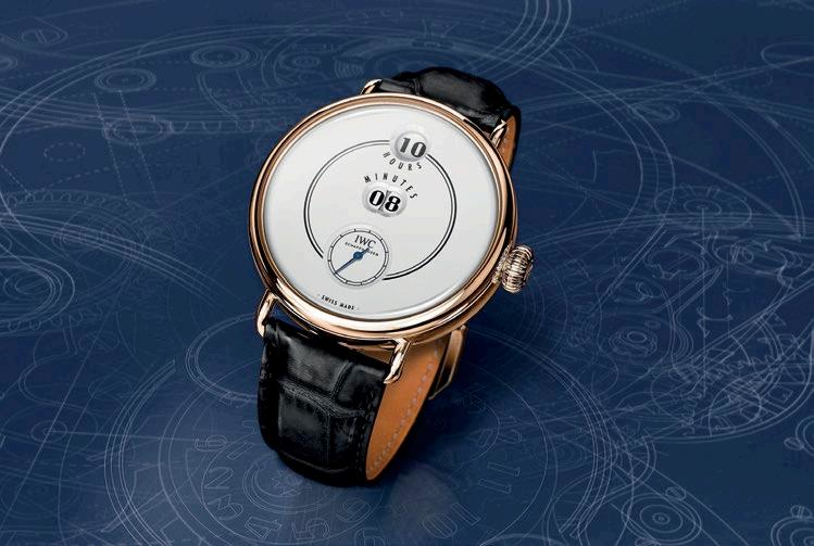 "The Jubilee collection comprises the IWC Tribute To Pallweber Edition ""150 Years""."