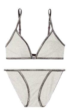Calvin Klein ID bra and undies set, $81.20