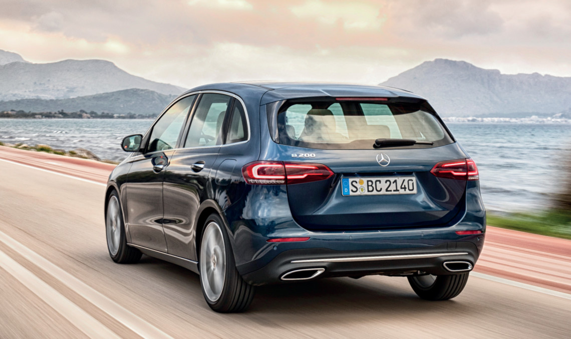 Latest B-Class rides better than before, but is dynamically no better than the older model.